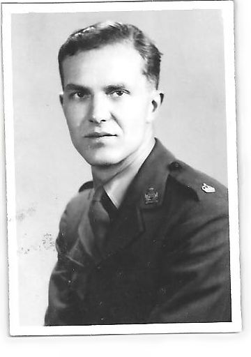 Major James MacGibbon in June 1944.
